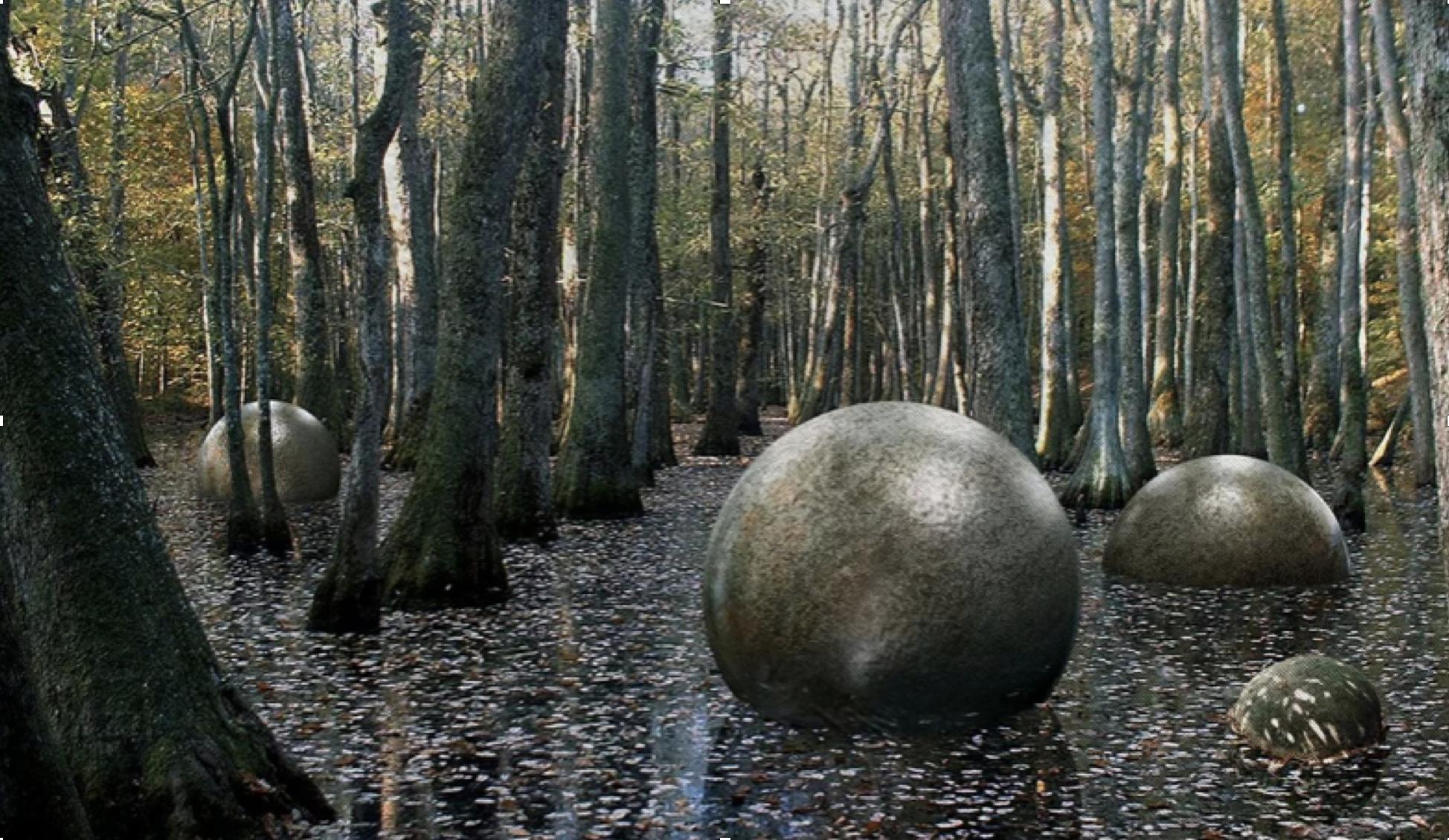 Загадочные каменные шары в джунглях Коста-Рики