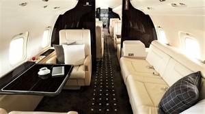 Интерьер самолетов Bombardier CL 850