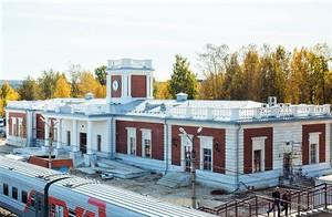 Первый в мире модульный вокзал в Сосногорске