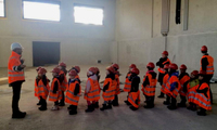 Школота на стройплощадке