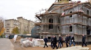 Строительство храма в СИЗО «Матросская Тишина»