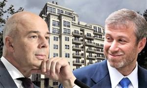 Антон Силуанов и его сосед Роман Абрамович