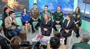 Валентина Матвиенко встретилась с участниками движения студенческих отрядов