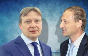 Антон Глушков и Леонид Казинец
