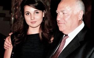 Виктор Черномырдин и его внучка Мария