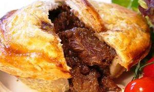 Английский пирог с мроморной говядиной