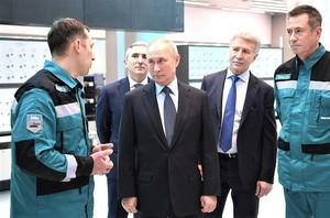 Владимир Путин в Тобольске