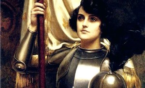 Жанна д'Арк с картины Харольда Пиффарда