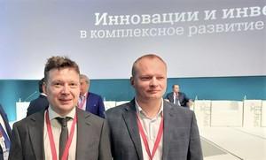 Антон Глушков и Антон Мороз на ПМЭФ