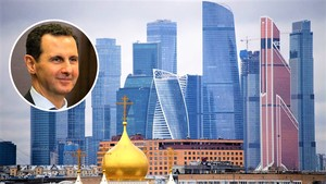 Башар Асад и Москва Сити