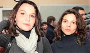 Татьяна Друбич и её дочь Анна
