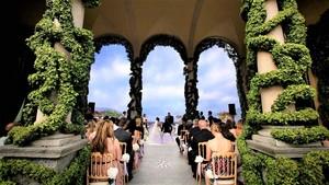 Свадебная церемония на озере Камо