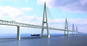 Проект моста через Лену