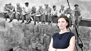 Александра Белоус и знаменитое американское фото «Обед на небоскрёбе»