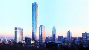 Проект небоскрёба Global Business Center