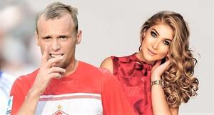 Денис Глушаков и его бывшая жена Дарья