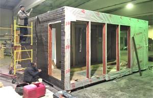 Заводское модульное домостроение