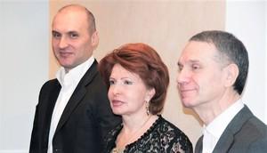 Игорь Креславский, Нина Креславская и Федор Туркин