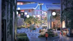 Тканый город будущего