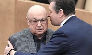 Владимир Ресин и Леонид Слуцкий
