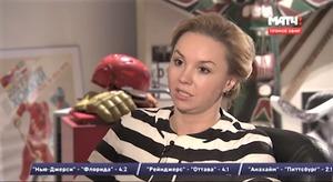 Наталья Желанова в бытность спортчиновницей