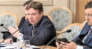 Антон Глушков на заседании Ассоциации банков