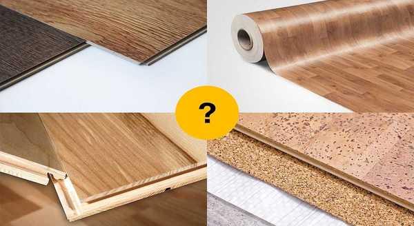 Типы и характеристики напольных покрытий