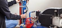 Как проверить систему трубопроводов давлением?