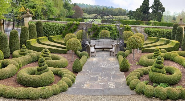 Все в сад. Британский сад…